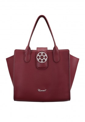 Liberty Tote Dark Red