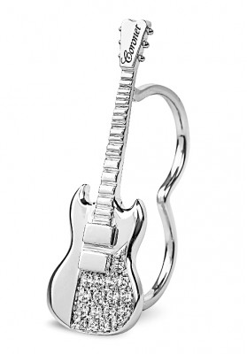 Double Finger Rock Guitar Ring