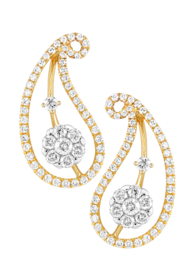 Coronet Fine Jewellery Diamond Earrings E40528