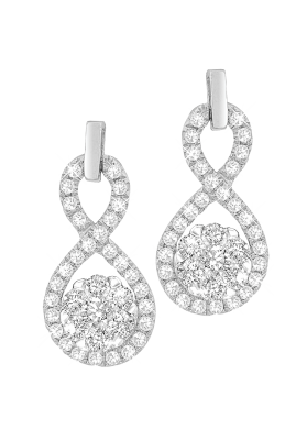 Coronet Fine Jewellery Diamond Earrings E26212G-26