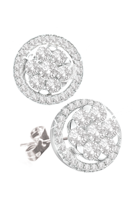 Coronet Fine Jewellery Diamond Earrings E35481