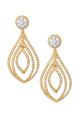 Coronet Fine Jewellery Diamond Earrings E38609B-3