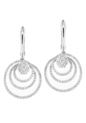 Coronet Fine Jewellery Diamond Earrings E39079